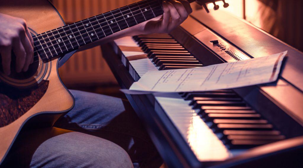 Lieblingssongs am Klavier